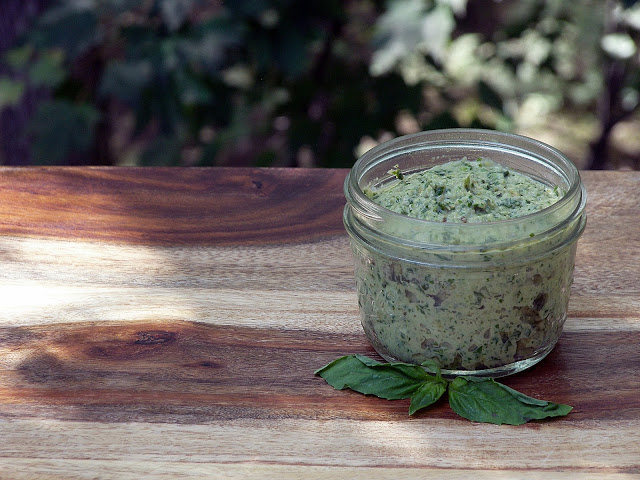 Kale Stem Pesto